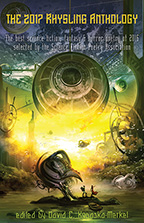 2017 Rhysling Anthology cover